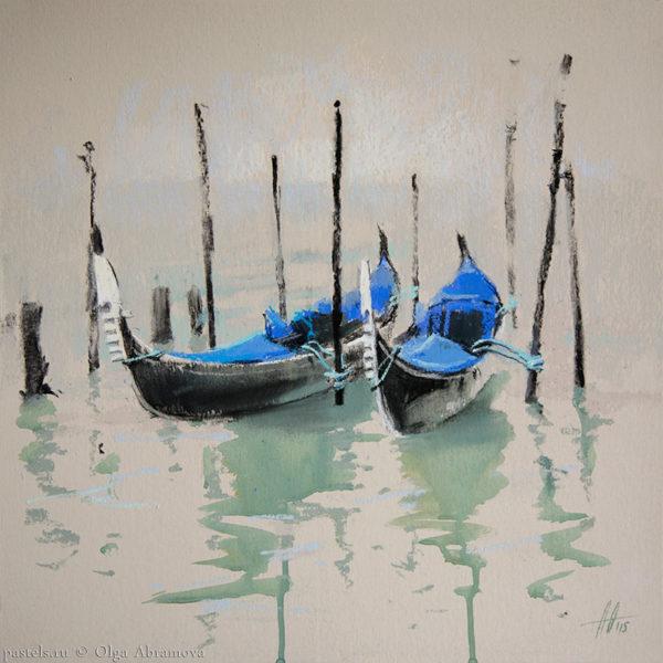Венеция 2. Кобальт Venice 2. Cobalt 41×41. 2015