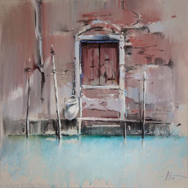 Venice 3. Caput Mortum 41x41. 2015
