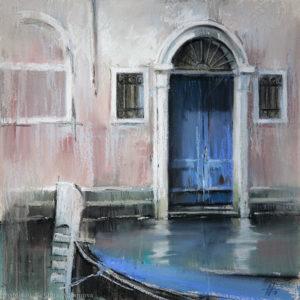Венеция 5. Синий Venice 5. Blue 41×41. 2016