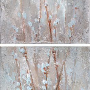 Верба. Диптих Willow. Diptych 50×23,5. 2015