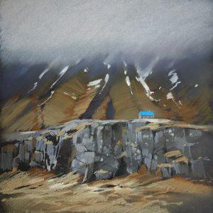 Iceland. Turquoise 32×31. 2014