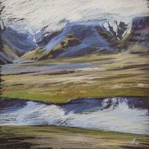 Исландия. Кобальт Iceland. Cobalt 32×31. 2014