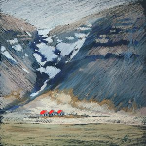 Iceland. Red 32×31. 2014