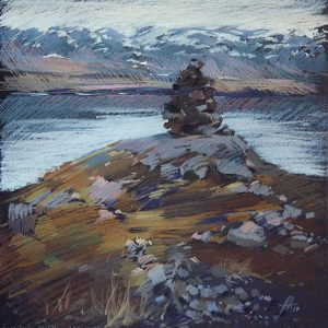 Исландия. Охра Iceland. Ochre 32×31. 2014