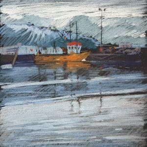 Исландия. Хусавик Iceland. Husavik 32×31. 2014