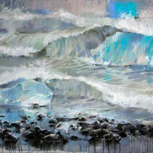 Океан The Ocean 90×145. 2015