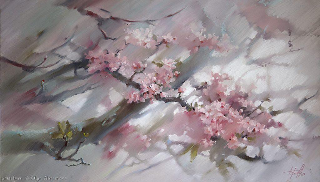 Sakura 57x88. 2014