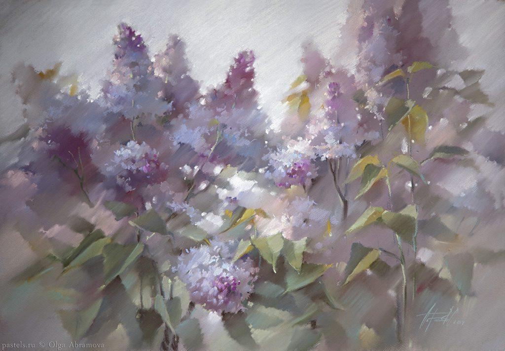 Lilac 60x80. 2014