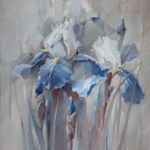 Ирис 32 Iris 32 65×50. 2016