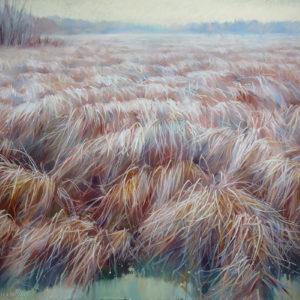 Terracotta field 100×145. 2016