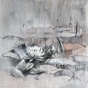 Водяные лилии 04. 70×70. 2017.jpg