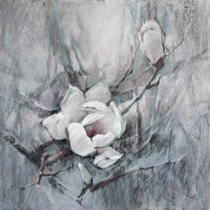 Magnolia 04 70×70. 2018