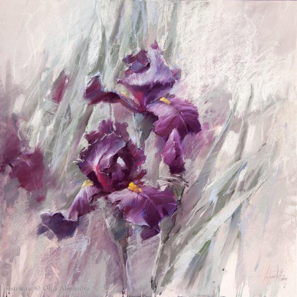 Iris 34 70×70. 2018