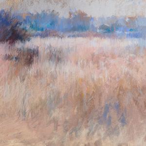 Соломенный туман 34×44. 2018