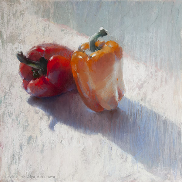 Peppers 40×40. 2019