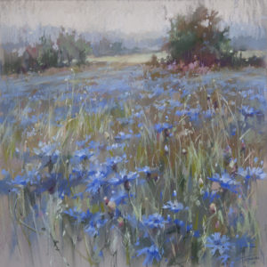 Синяя поляна 50×50. 2019