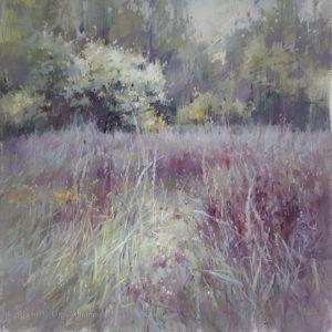 Glades 04. Green 70×70. 2020