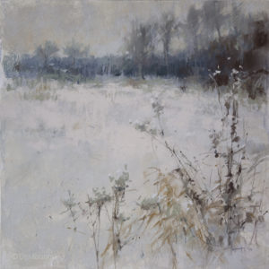 Shades of winter 50×50. 2021