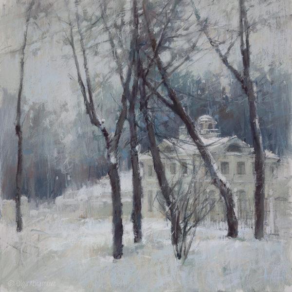 Serednikovo estate 70×70. 2021