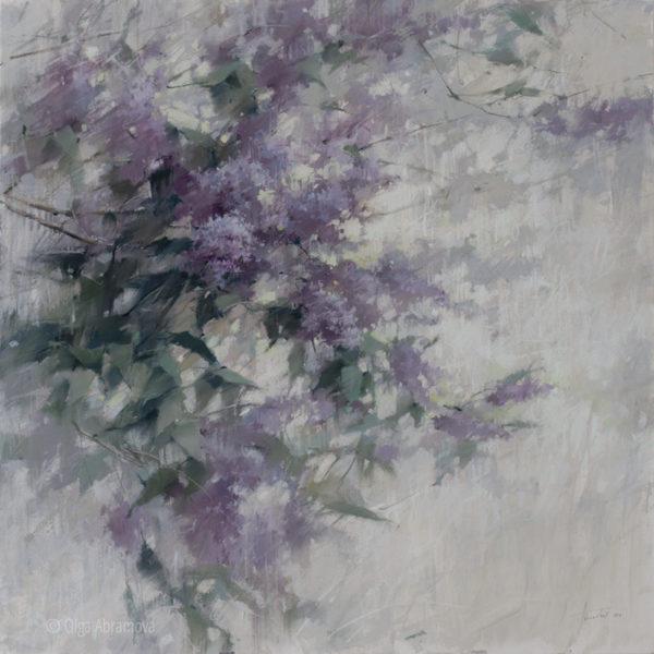 Lilac 100×100. 2021